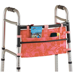 Walker Bag - Aloha Pink - This folding Walker Bag in Aloha Pink&n