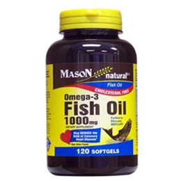 Mason Naturals Omega 3 Fish Oil - Image Number 38674