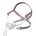 AirFit™ N10 for Her Nasal Mask Complete System - The AirFit™ N10 for Her delivers effortless performance, c