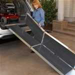 SUITCASE® Trifold® AS Ramp - The SUITCASE® TRIFOLD® AS Ramp has a unique 3-fold de