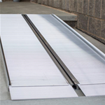SUITCASE® Singlefold Ramp - This portable ramp, with its single-fold design, sets up quic